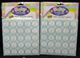 500 It's A Boy Baby Shower Labels, Thank You Card Seals
