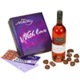 Cadbury Milk Tray and Rose Wine