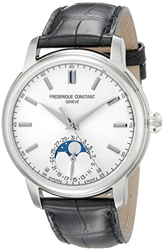 Frederique Constant Classics Moonphase Men's 40.5mm Automatic Watch FC-715S4H6