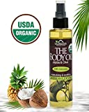 USDA Certified Organic Body & Bath Oil - Caribbean Coconut, 5 Fl.oz. ★ Brand New ★ The Highest Quality Pure, Certified Organic and 100% Natural Daily Body Oil ★ Luxurious. Light and Easily absorbable after shower to Moisturize Skin or Use as a Massage Oil. ★ Jojoba & Olive Oil along with Vitamin E. Anti-inflammatory ★ No Alcohol, No Paraben, No Artificial Detergents, No Color, No Synthetic perfumes, No Chemicals.