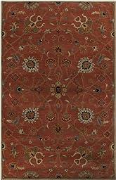 Surya Caesar Multi Color 4\' Traditional Area Rug