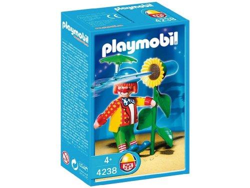 Jouet : Playmobil - 4238 - Playmobil  - Clown Avec Fleur Lance-Eau