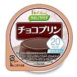ハウス やさしくラクケア 20Kcalチョコプリン 60g 【常温】