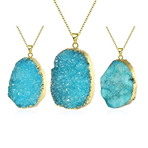 dipped-raw-natural-crystal-quartz-drop-chakra-necklace-gold-plate-alloy-chain