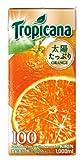 キリン トロピカーナ 100% オレンジ 1L×6本