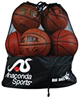 Anaconda Sports® BIGBALLBAG-A-BLCK Big Ball Bag (with Anaconda Sports® Logo)