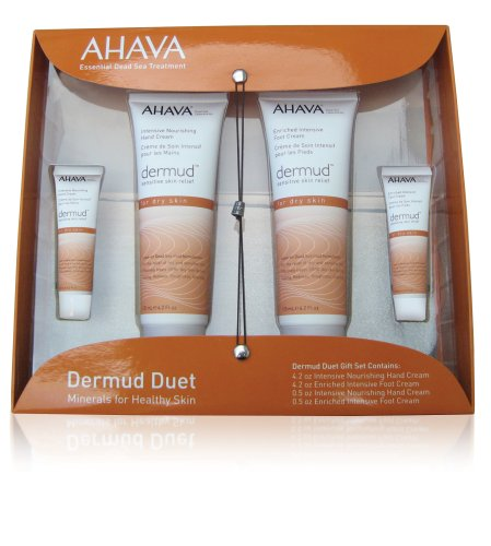Ahava Dermud Dead Sea Hand And Foot Cream Duet