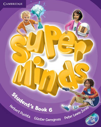 Super Minds Level 6 Student's Book with DVD-ROM (Book & DVD Rom)