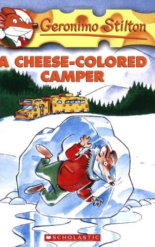 A Cheese-Coloured Camper (Geronimo Stilton)