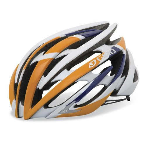 Buy Low Price Giro Aeon Road Helmet – ORANGE/BLUE RABOBANK, SMALL 20-21.75″ (B005C8TP0Q)