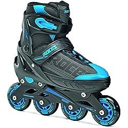 Roces Inline de patines en línea Jokey 1.0, Black de Astro Blue, 34-37, 400810