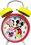ミッキー フアンタジー 音声 目覚まし時計 【ミッキー&ミニー】 (ウォルトディズニー ミニー ミッキーマウス) 置時計 目覚し時計