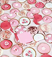 Pretty Pink Cupcake Sheet Wrapping Paper