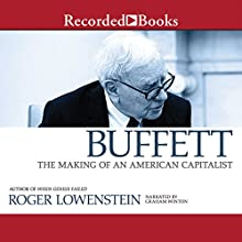 Buffett: The Making of an American Capitalist Audiobook by Roger Lowenstein Narrated by Graham Winton