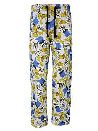 The Simpsons 'Doh!' Pantalon de pyjama - Small