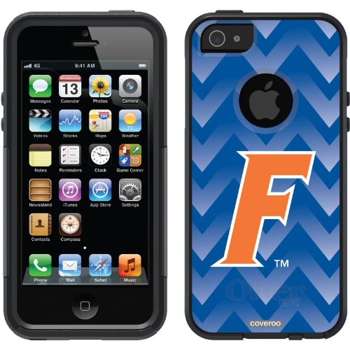Best Price University of Florida - Gradient Chevron design on a Black OtterBox® Commuter Series® Case for iPhone 5s / 5