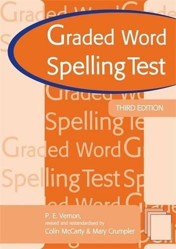 graded-word-spelling-test-3rd-edn-test-booklet