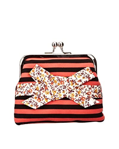 Louche Bags Monedero Bags Womens Viola Purse Coral