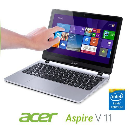 Acer-V3-111P-Portable-Ultra-Thin-Touchscreen-Computer-Pentium-Quad-Core-up-to-2-58GHz-4GB-500GB-11-6-HD-LED-Intel-HD-Graphics-Webcam-WiFi-HDMI-Certified-Refurbished-