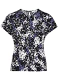 Austin Reed Floral Print Jersey Top SIZE SMALL