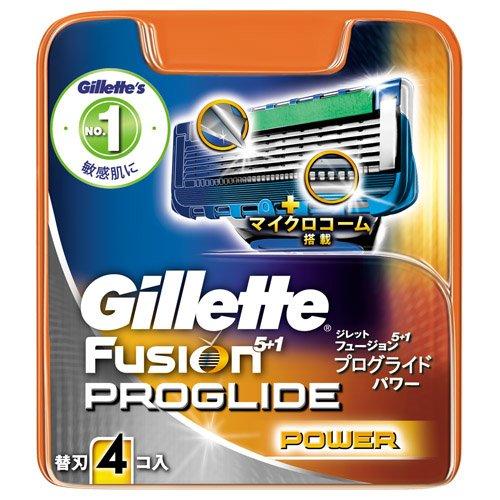 ジレット プログライドパワー 替刃 4個