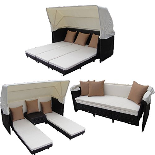 Outdoor Beds With Canopy 7510 front