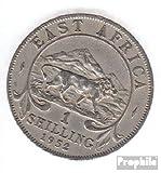 Reino Unido. África Oriental y Uganda 31 1948 muy ya Cobre-Nickel 1948 1 Shilling George VI. (monedas para los coleccionistas)