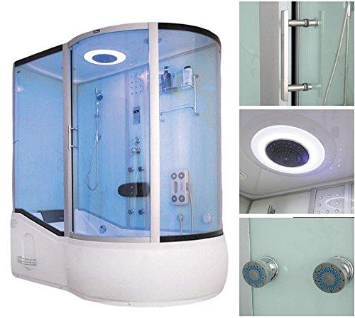 home deluxe all in 4in1 duschtempel inkl dampfsauna und. Black Bedroom Furniture Sets. Home Design Ideas