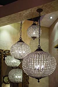 Round Crystal Chandelier   Large       Customer review and more information