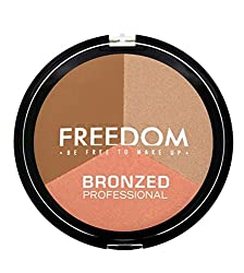 Freedom Makeup London Bronzed Professional, Shimmer Lights, 15g