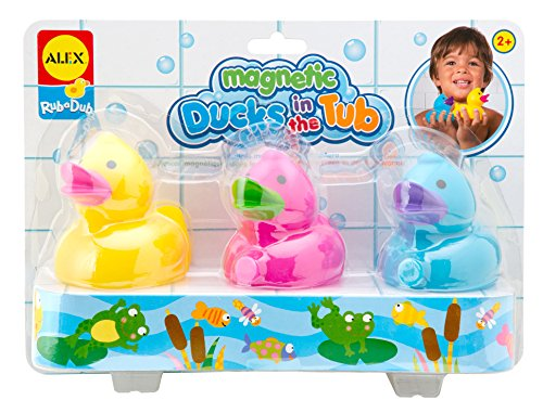 ALEX Toys Rub a Dub Magnetic Ducks in the Tub