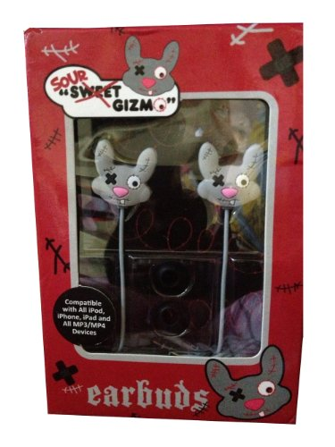 Sakar Sour Sweet Gizmo Earbuds (Mouse)