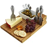 Picnic at Ascot Cutting Board and Tools Set
