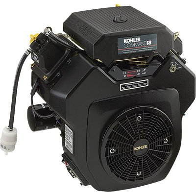 Kohler: Command V-Twin Horizontal Engine With Electric Start ? 18 Hp,