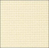 Hardanger Embroidery Fabric 22 Count Cream 70cms wide x 95cms