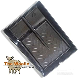 Dual 2-Color Roller Tray Faux Finish Paint Tray by The Woolie
