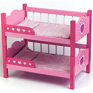 lit superpos bois maison de poup e jeux et jouets. Black Bedroom Furniture Sets. Home Design Ideas