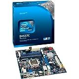 Intel DH55TC LGA1156 H55 Chipet Boxed Motherboard (UATX Box, DDR3-1333 upto 16GB , 1 PCIE, HDMI, DVI, VGA, GBE) for 1st Gen