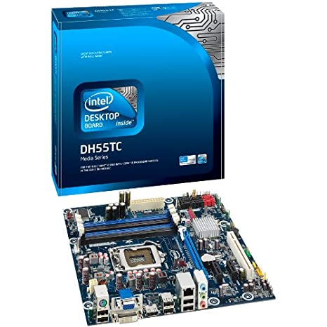 Intel Desktop Board DH55TC Carte-m ère micro ATX iH55 LGA1156 Socket SATA-300 Gigabit Ethernet vid éo audio haute d éfinition (8 canaux)