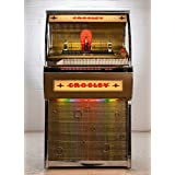 Rocket Full Size CD Jukebox with Bluetooth - Holds 80 CDs (Color: Black)