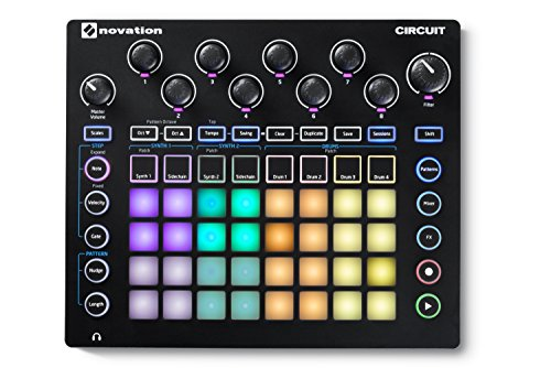 Best Price Novation Circuit 4x8 Grid Groove Box