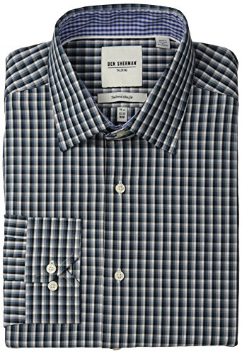 ben-sherman-mens-mini-multi-plaid-slim-fit-dress-shirt-teal-165-x-34-35