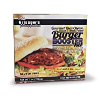 Gourmet Bleu Cheese, Bacon & Black Pepper Burger Kit