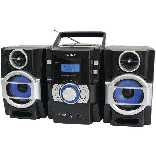 Naxa Portable CD and MP3 Player With Pll FM Radio, Detachabl