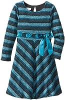 Bonnie Jean Big Girls' Long Sleeve Brushed Knit Dress