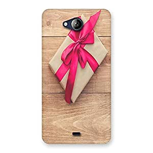 Ajay Enterprises Wrap Gift Back Case Cover for Canvas Play Q355