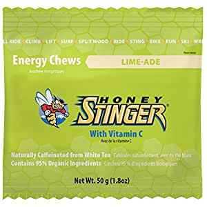 : Honey Stinger Organic Energy Chews - 12 Pack Dark Chocolate Cherry ...
