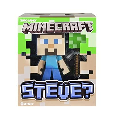 "2 X Minecraft Steve 6"" Vinyl Figure by Spin Master"
