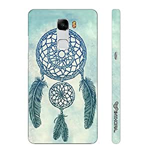 Huawei Honor 7 WEAVE A DREAM designer mobile hard shell case by Enthopia