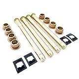 Door Hinge Pin Single Kit 4 Pin 2 Door fits 95-04 Chevy S10 & GMC S15 Premium